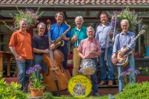 Spiegeltent Swingband Jelle van der Zee De Bilt
